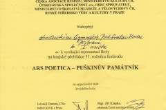 Diplom 1 místo
