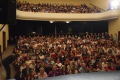 Průvodce Dnem divadla Tomáš Bílek pravidělně zapojuje i publikum