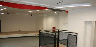 vnitřní prostor Junior klubu