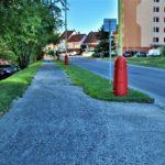 Chodník Drkolnovská ulice
